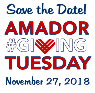 giving tuesday amador county